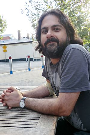 Ali Alizadeh is Poet of the Month