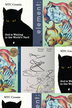 Luke Beesley reviews 'In God is Waiting in the World's Yard' by MTC Cronin, 'Element' by Jordie Albiston, and 'Family Trees' by Michael Farrell