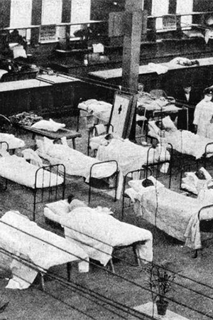 "'""Fear of the latent germ"": Government versus artists during the Spanish Flu' by Nicholas Tochka"