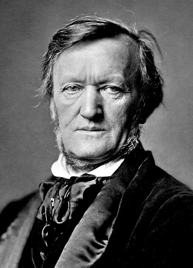 Richard Wagner, Munich, 1871. (Credit: Wiki Commons)