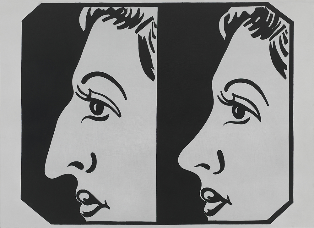 Andy Warhol (1928–1987), Before and After [4], 1962. Acrylic and graphite on linen, 72 1 ⁄8 x 99 3 ⁄4 in. (183.2 x 253.4 cm). Whitney Museum of American Art, New York; purchase with funds from Charles Simon, 71.226 © The Andy Warhol Foundation for the Visual Arts, Inc. / Artists Rights Society (ARS) New York