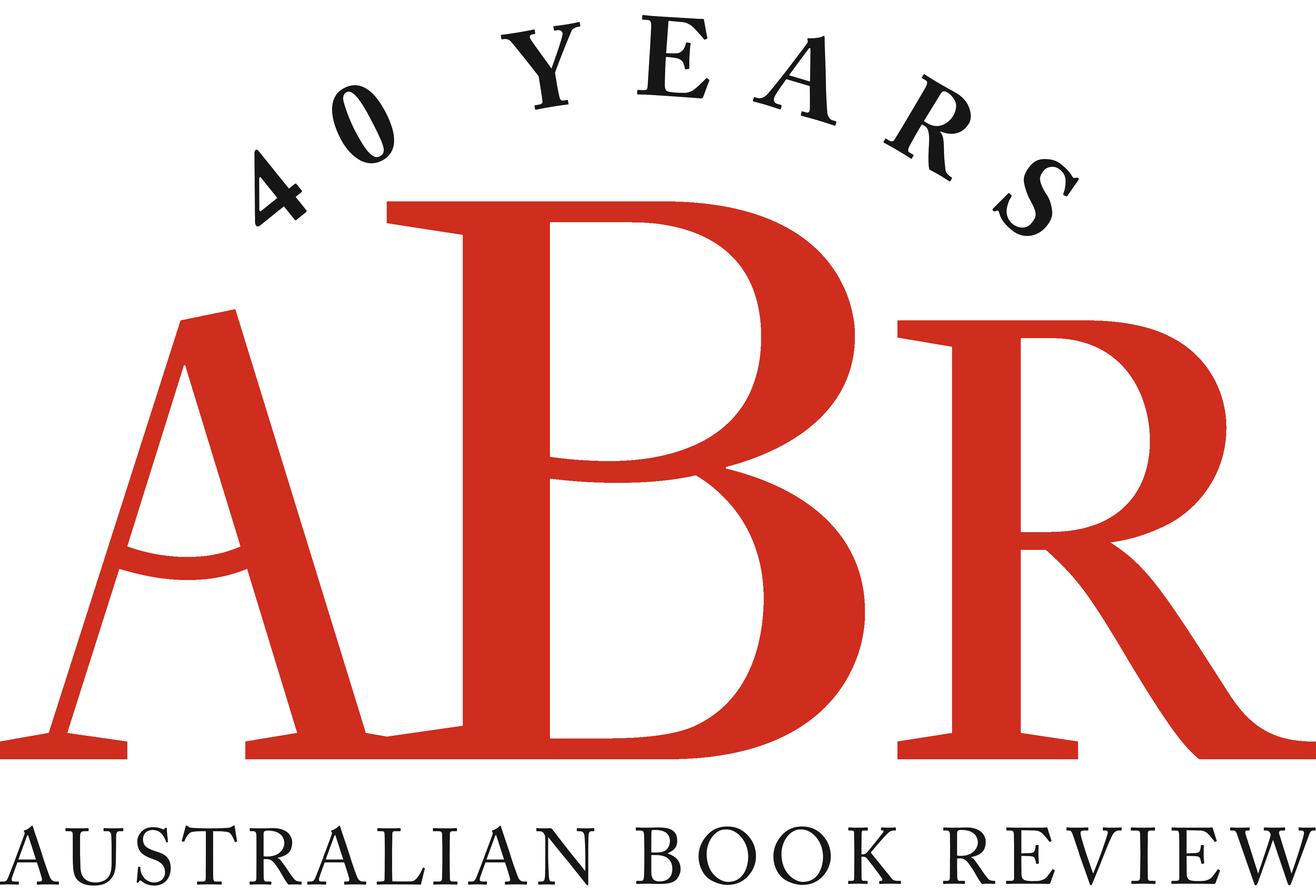 ABR 40 YEARS logo red