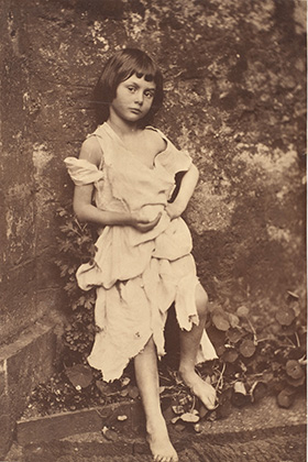 Alice Liddell 1858 Photographed by Charles Lutwidge Dodgson aka Lewis Carroll