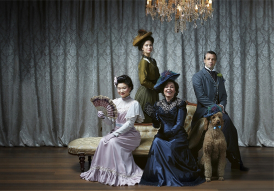 Promotion image for An Ideal Husband (photo by Melbourne Theatre Company)