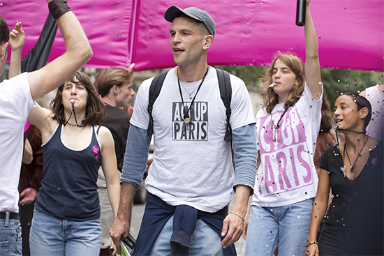 "Arnaud Valois stars as a young French AIDS activist in ""BPM (Beats Per Minute)"