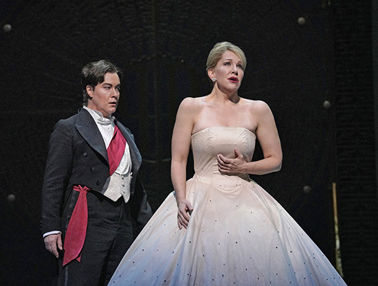 Cendrillon Alice Coote as Prince Charming and Joyce DiDonato in the title role of Massenets Cendrillon photo Ken Howard Met Opera