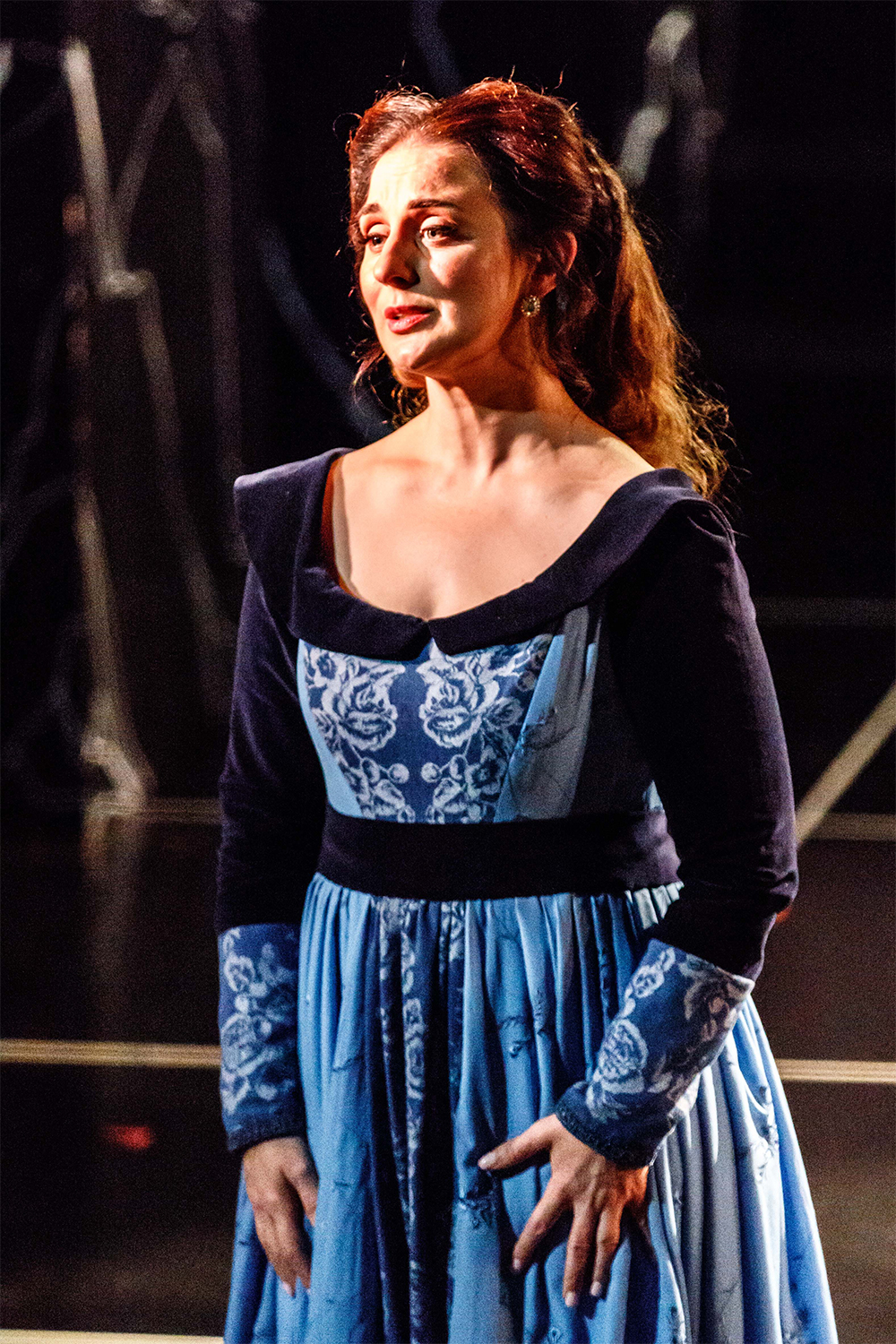 Elena Xanthoudakis as Desdemona (photo by Robins Hall)