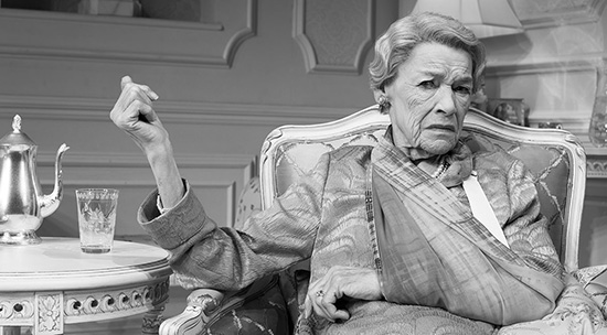 Glenda Jackson in Three Tall Women photograph by Brigitte Lacombe