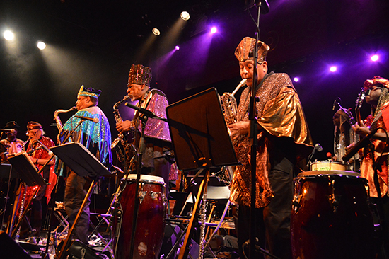 MIJF 2018 Sun Ra Arkestra under the direction of Marshall Allen no photo credit supplied ABR Arts