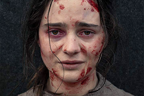 Aisling Franciosi in The Nightingale (2018) (Photo by Kasia Ladzcuk, Nightingale Pictures)