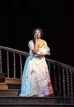 Pretty Yende in the title role of Donizettis Lucia di Lammermoor