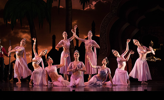 QB La Bayadere 2018. Artists of Queensland Ballet 6. Photo David Kelly