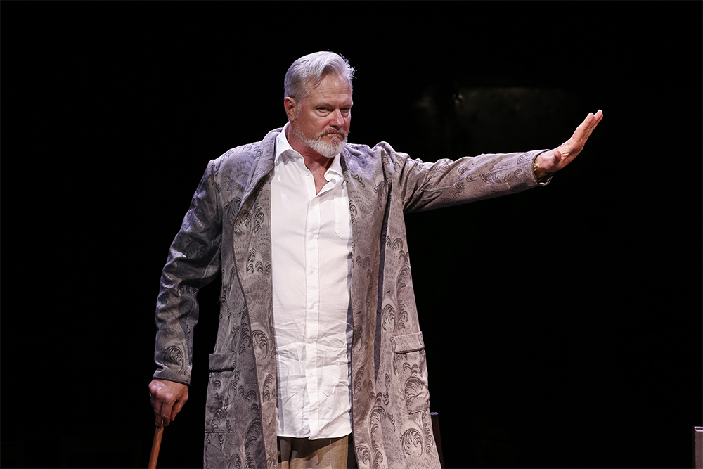 William McInnes as King Charles II in Nearer the Gods (photo by Jeff Busby)