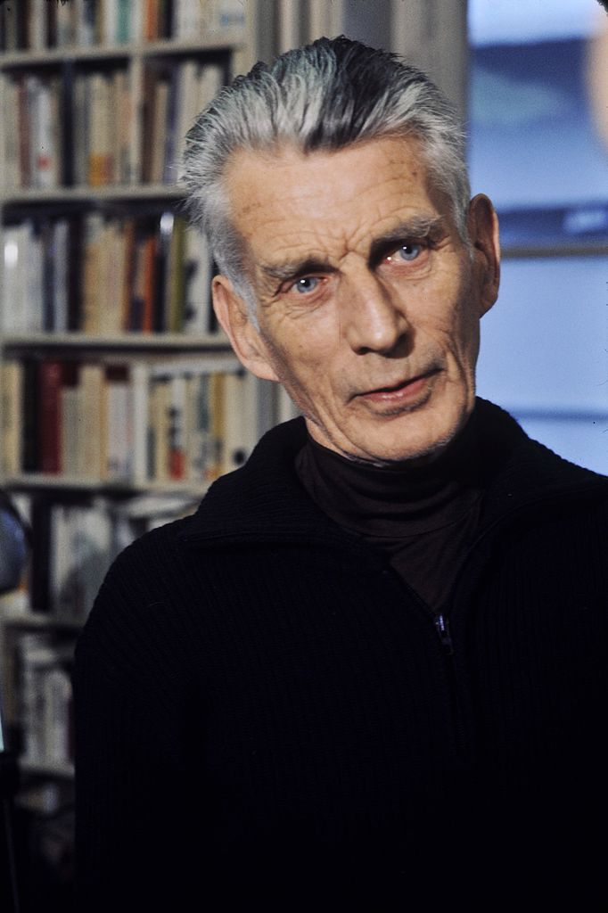 Samuel Beckett (photo via Wikimedia Commons)