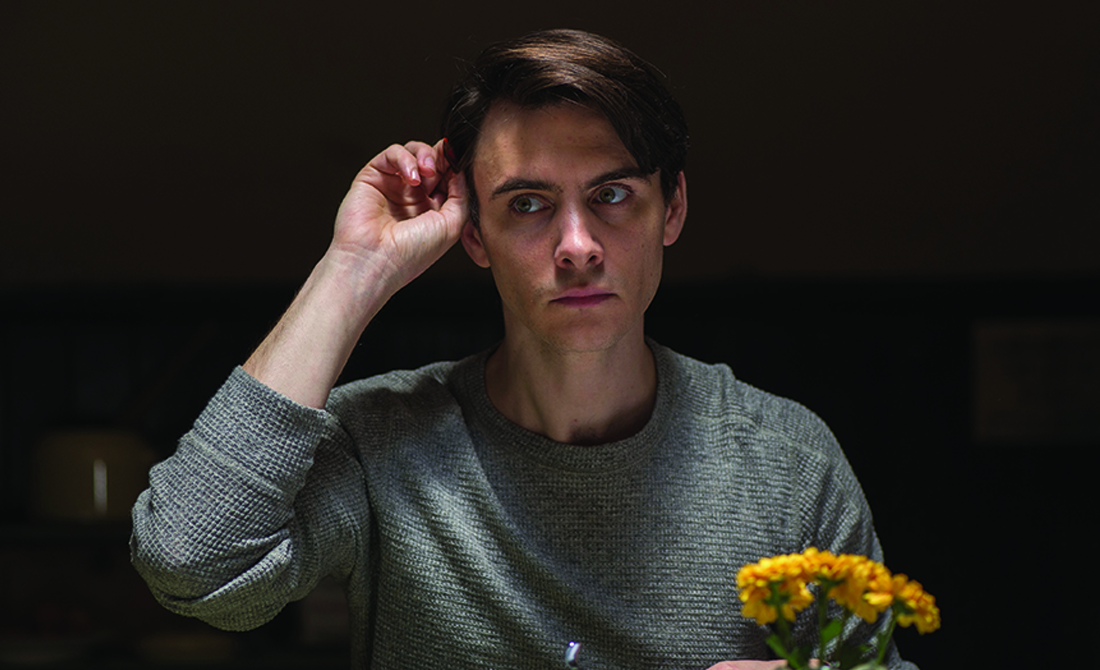 Harry Lloyd as a young Joe Castleman in The Wife (Icon Films Distribution)