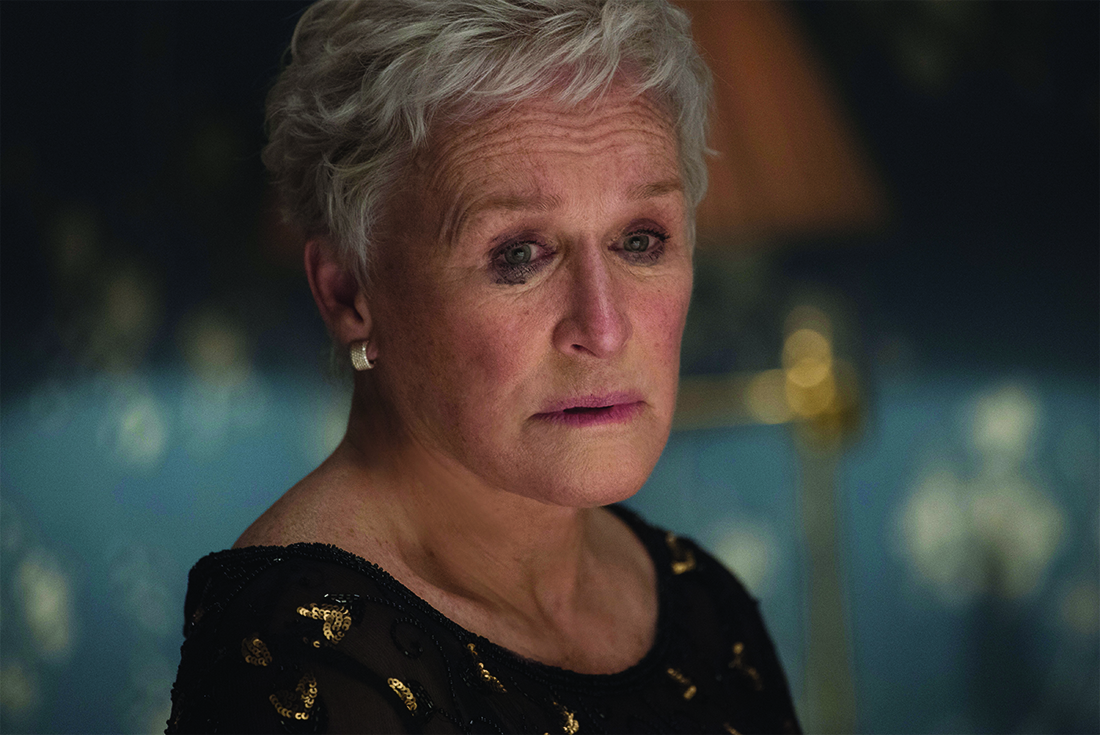 Glenn Close as Joan Castleman in The Wife (Icon Films Distribution)