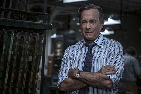 Tom Hanks as Ben Bradlee in The Post Entertainment One