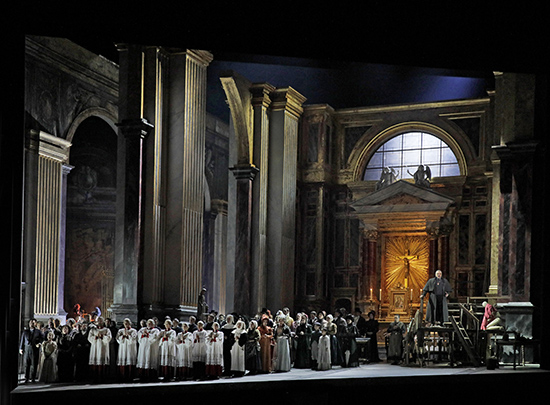 Tosca Act I of David McVicars new production of Tosca Photo Ken Howard Metropolitan Opera