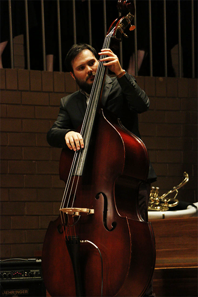 Artistic Director James Mustafa, who leads the newly formed Victorian Youth Jazz Collective.