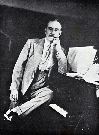Puccini during the writing of Turandot