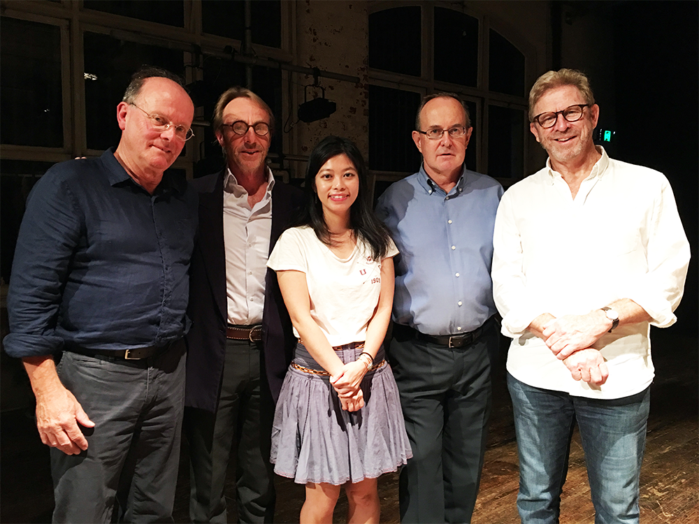 The 2019 Porter Prize shortlist: Ross Gillett, Mark Tredinnick, Belle Ling, Andy Kissane, and John Foulcher
