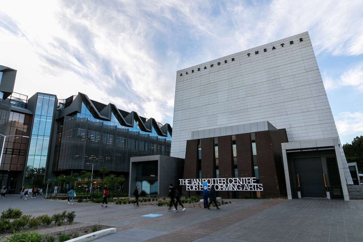 The Ian Potter Centre for Performing Arts (photograph supplied by Monash University)