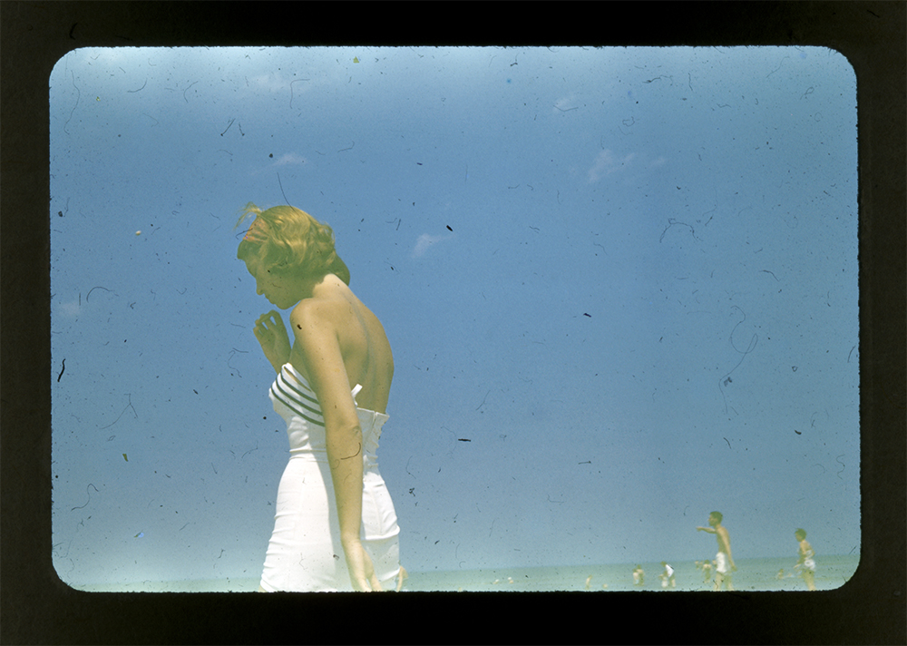 Sylvia Plath on a beach in Chatham, Massachusetts, 1954 (Photograph by Gordon Lameyer. Courtesy Lilly Library, Indiana University, Bloomington, Indiana.)