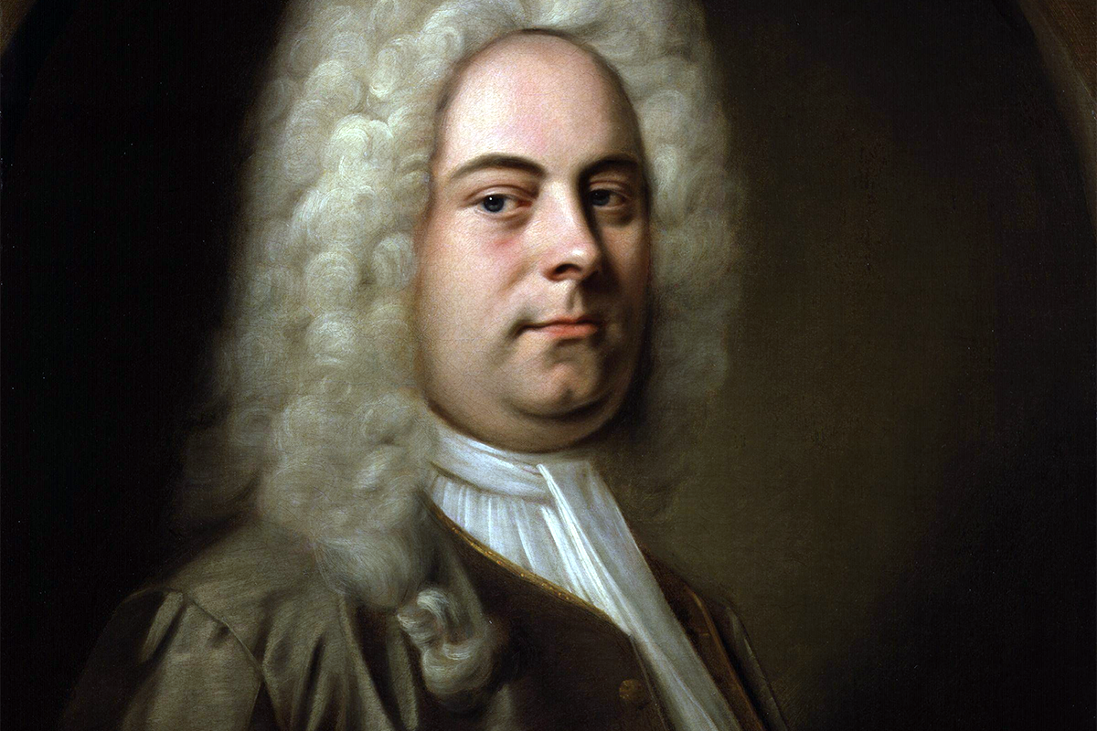 Portrait of George Frideric Handel by Balthasar Denner, c. 1726–1728 (photograph via Wikimedia Commons)