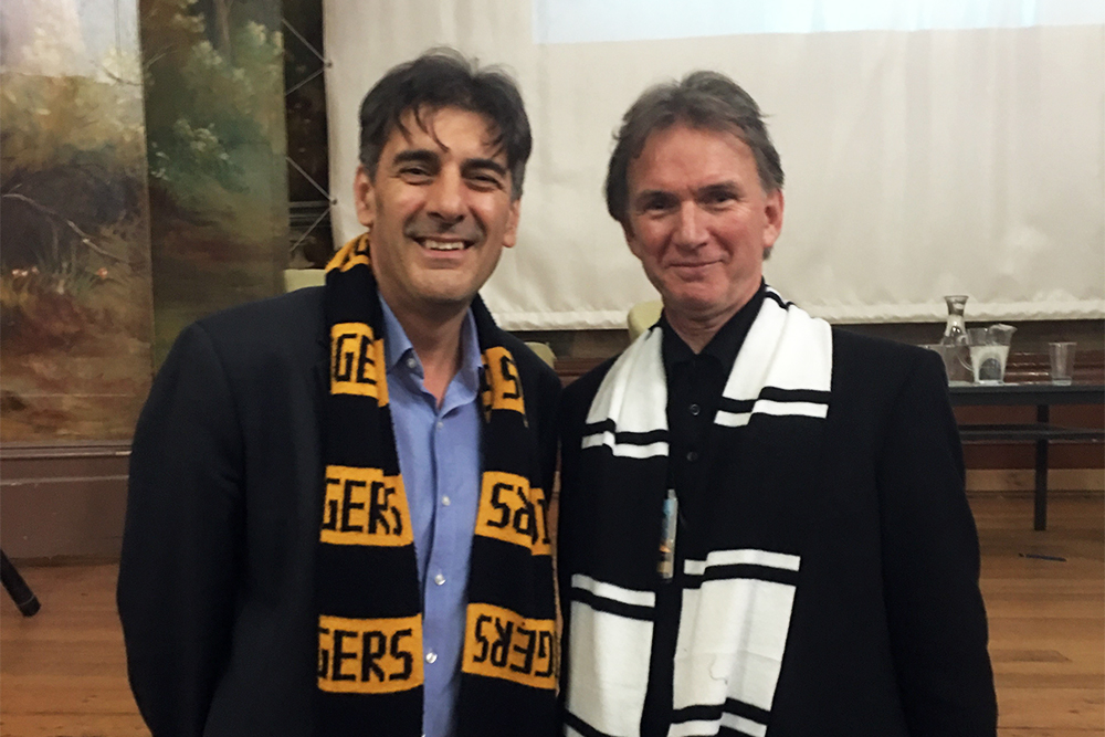 Peter Rose interviews George Megalogenis at Clunes Booktown Festival, 2019