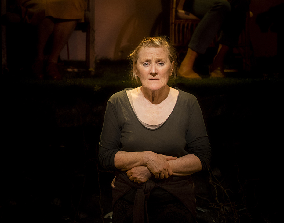 Julie Forsyth in Escaped Alone (photograph by Jodie Hutchinson)