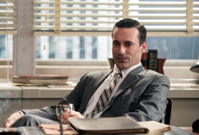 Jon Hamm as Don Draper in Mad Men (AMC)