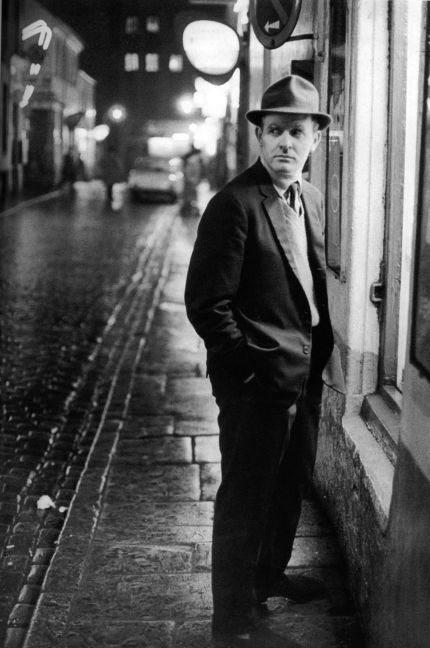 David Cornwell posing as a spy in London in 1964  for Life magazine shortly after being outed as the author  of The Spy Who Came in From the Cold  (Ralph Crane/The LIFE Picture Collection/Getty Images)