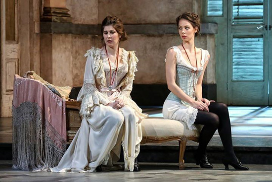 Nicole Car as Fiordiligi and Anna Dowsley as Dorabella in Opera Australias Così fan tutte Photograph by Prudence Upton