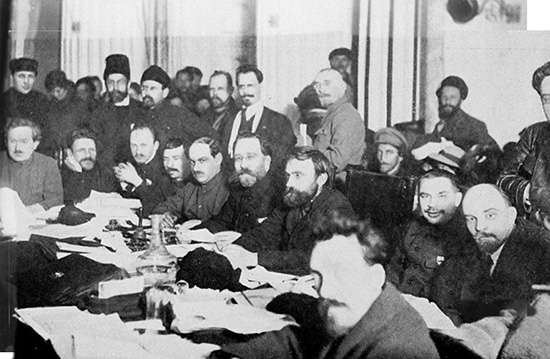 Presidium of the 9th Congress of the Russian Communist Party Bolsheviks AO