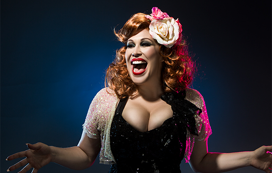 Catherine Alcorn as Bette Midler in