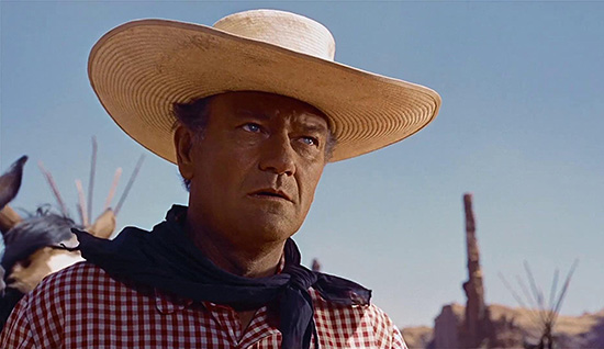 John Wayne in The Searchers 1956 C.V. Whitney Pictures