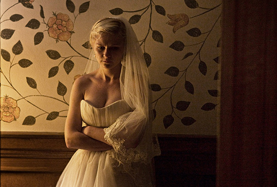 Kirsten Dunst in Melancholia 2011 Zentropa Entertainments