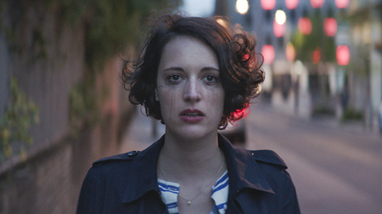 Phoebe Waller Bridge as Fleabag photograph copyright Two Brothers Pictures and all3media International