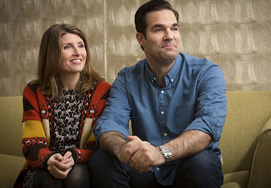 Sharon Hogan and Rob Delaney in Catastrophe