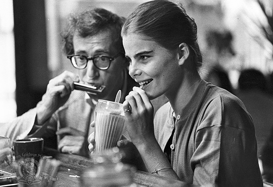 Woody Allen and Mariel Hemingway MGM