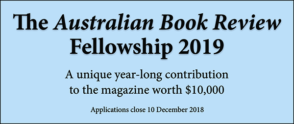 Applications to the 2019 Australian Book Review Fellowship are now open