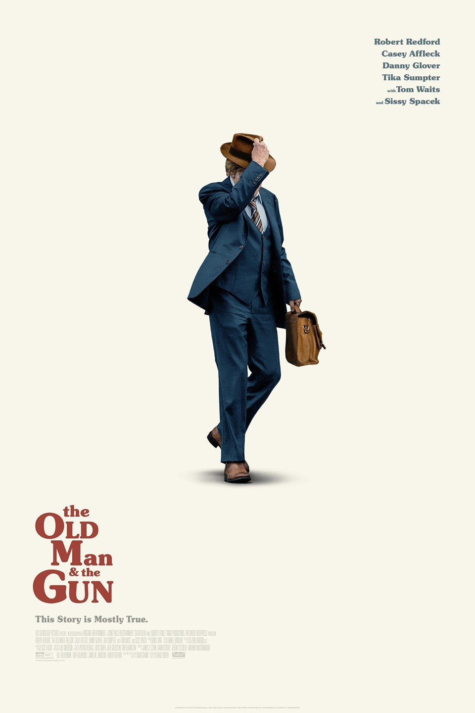 The Old Man & the Gun, directed by Robert Redford