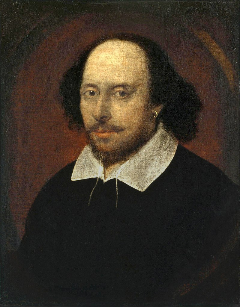 A portrait of William Shakespeare. (Wiki Commons)