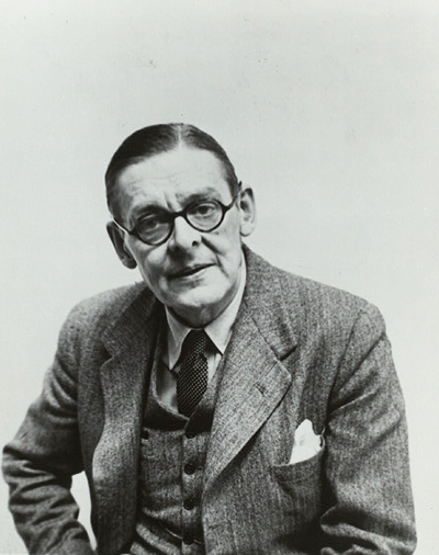 "Image of T.S. Eliot. Billy Rose Theatre Division, The New York Public Library. ""T. S. Eliot"" The New York Public Library Digital Collections."