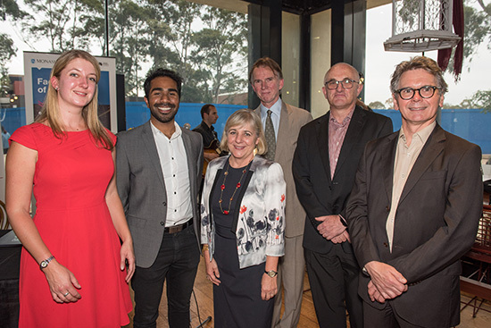 ABR team with Rae Frances at Monash launch 2