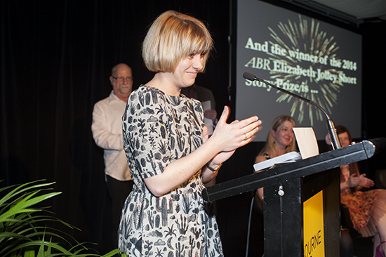 Jennifer Down wins the 2014 ABR Elizabeth Jolley Short Story Prize