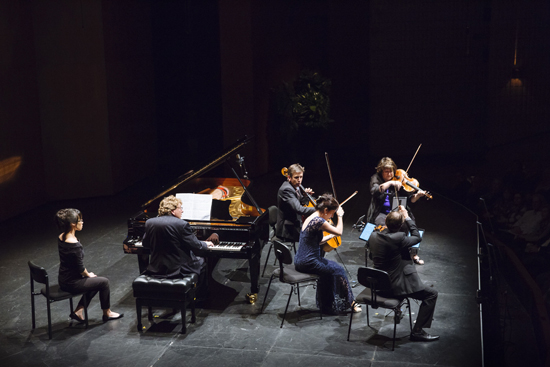 Piers Lane Goldner String Quartet (photograph by Andrew Rankin)