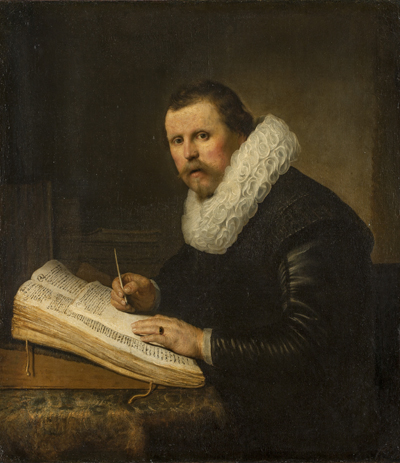 Portrait of a scholar