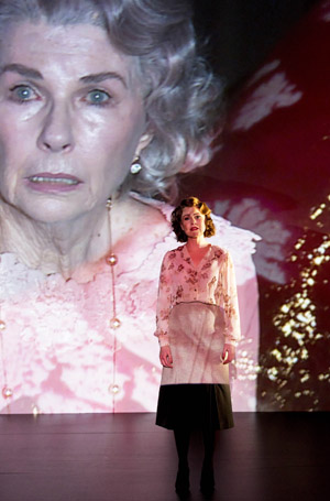 Robyn Nevin background Eryn Jean Norvill foreground in Sydney Theatre Companys production of Suddenly Last Summer photograph by Brett Boardman