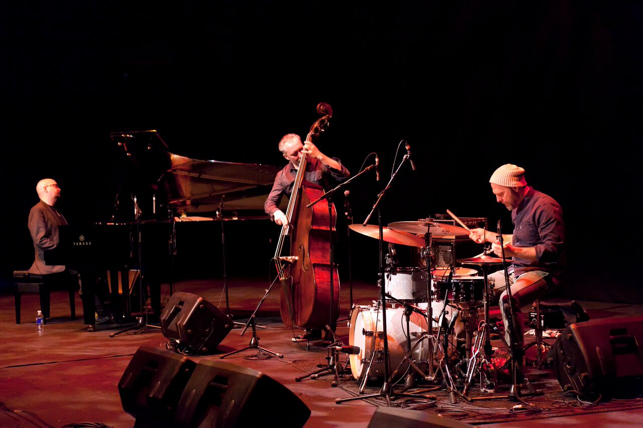 The Bad Plus (photograph by Michael Findlay)